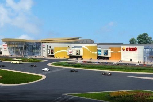 В Челябинске завершается строительство ТРК «Алмаз»