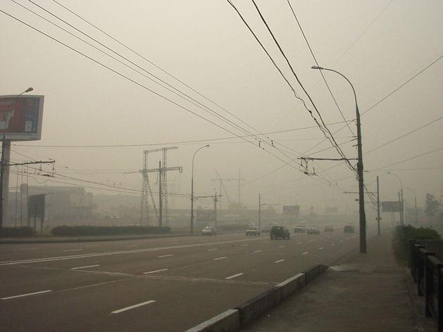 В Челябинске объявлено предупреждение по смогу до вечера пятницы