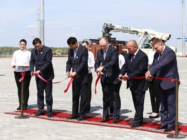 Борис Дубровский принял участие в запуске ЖД-терминала ТЛК «Южноуральский»