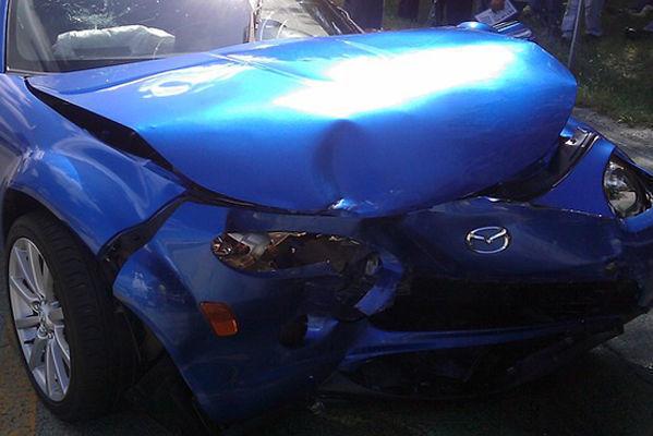 В Челябинске сбежал виновник массовой аварии автомобилей