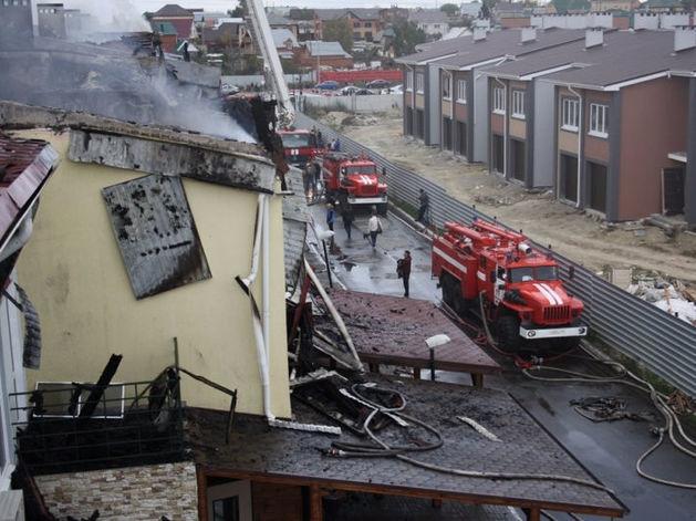 Челябинский пожнадзор назвал причины распространения огня в Благодатово