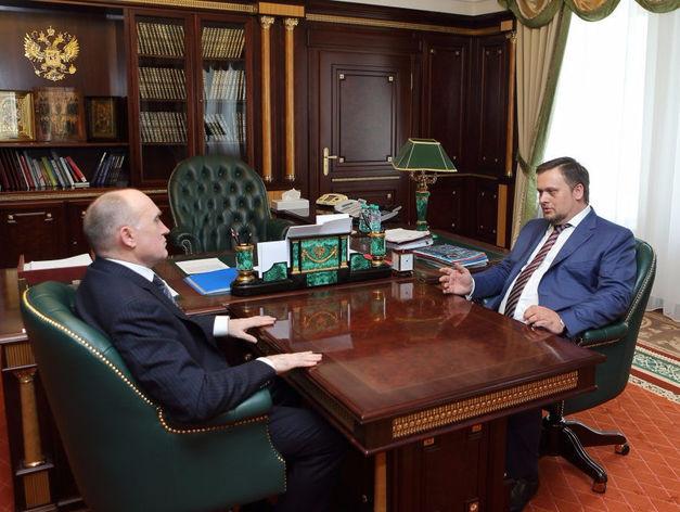 Борис Дубровский провел переговоры с гендиректором российского АСИ Андреем Никитиным