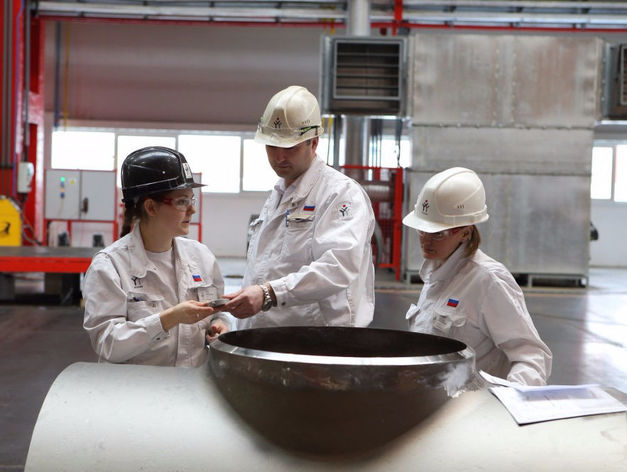 ЧТПЗ презентовал «Белую скважину» на международной выставке в Москве