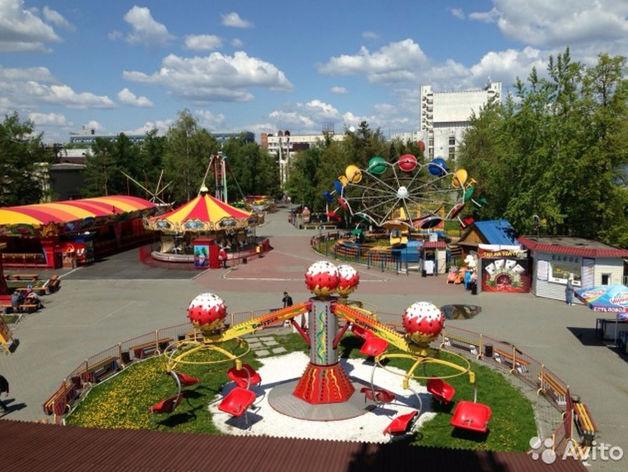 В Челябинске выставили на продажу парк аттракционов