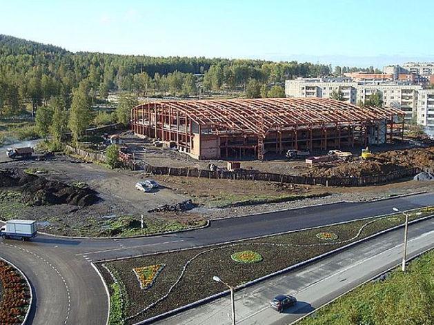 Челябинские власти выставили на торги один из крупнейших ФОКов региона