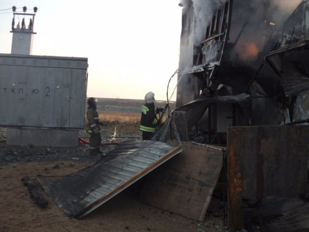 На территории предприятия РМК погиб рабочий во время пожара