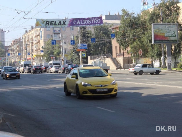 В Челябинске объявлены торги по аренде рекламных конструкций