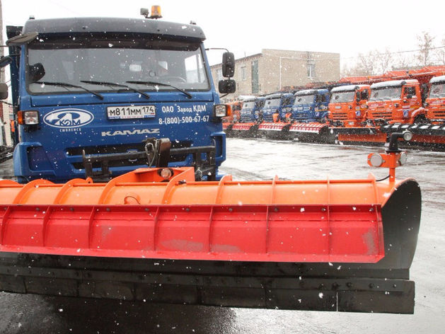 Из Челябинска за ночь вывезли 368 тонн снега