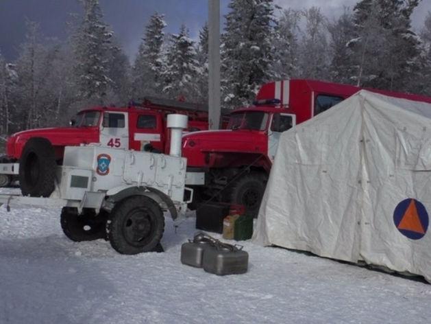 Из-за снежного циклона челябинское МЧС продлило штормовое предупреждение