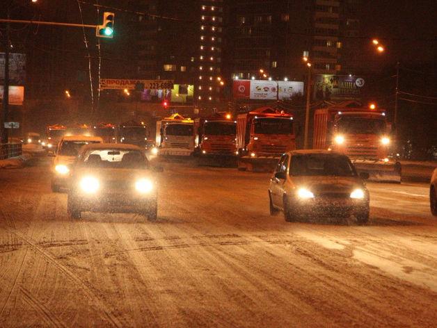 9-балльные пробки сковали улицы Челябинска