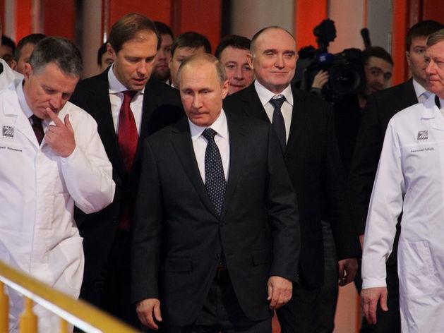 Дубровский отказался озвучивать подробности разговора с Путиным