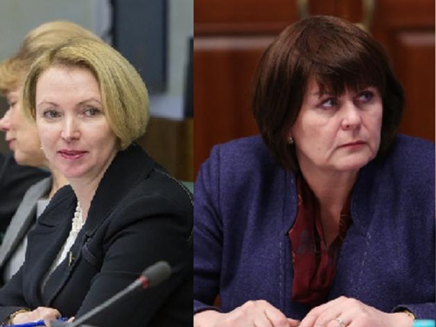 Ирина Гехт и Анна Козлова