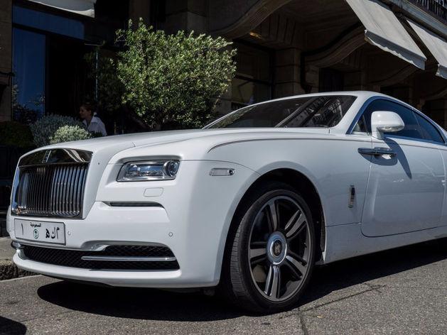 Александр Аристов купил новый Rolls-Royce стоимостью 18 млн руб.
