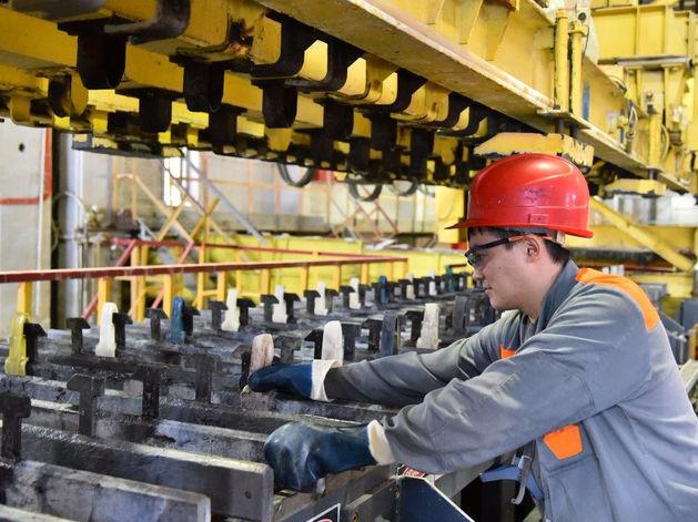 Цинковый завод запустил оборудование за 1,2 млн евро