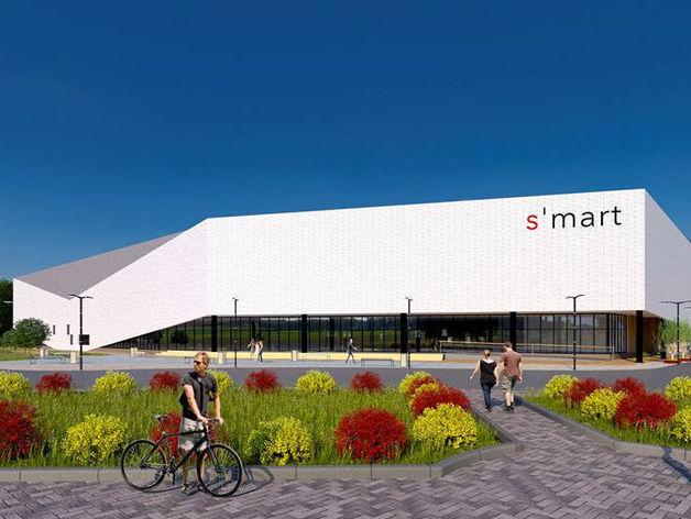 В Челябинске строят торговый центр с необычным фасадом. ПОДРОБНОСТИ