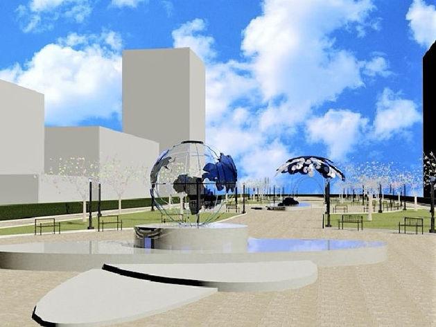 Космический парк, верблюд и туалеты. Как преобразят центр Челябинска к 2020 г.