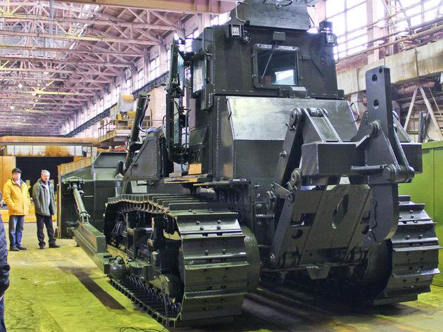 Челябинский тракторный завод создал центр, где делают технику для боевых действий