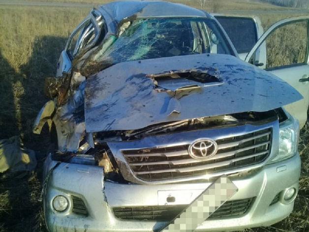 Под Чебаркулем в перевернувшейся иномарке погиб пассажир