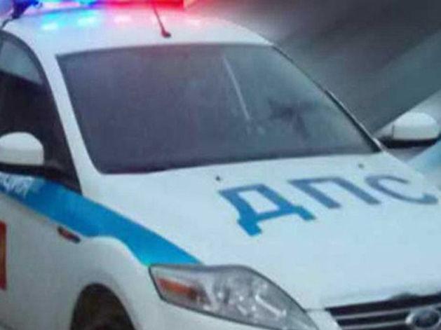 В Челябинске столкнулись две иномарки, в одной из которых были дети