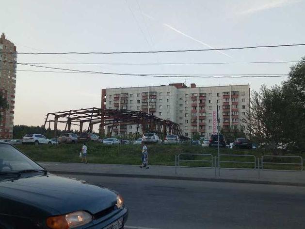В Челябинске снесут недостроенный физкультурный комплекс