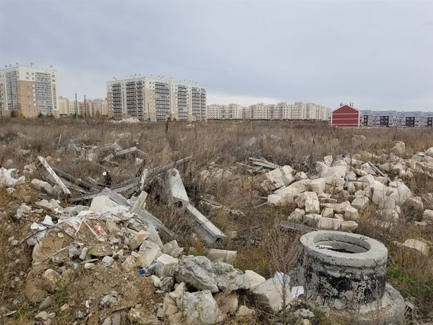 Возле Шершней обнаружили незаконный карьер с мусором