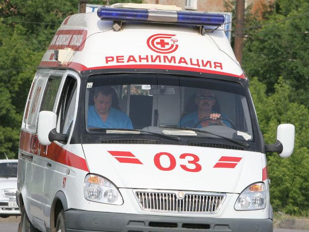 «Семерка» на летней резине улетела в кювет в Челябинской области