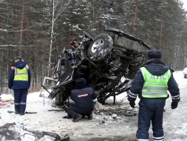 В Челябинской области в массовом ДТП погибли пять человек