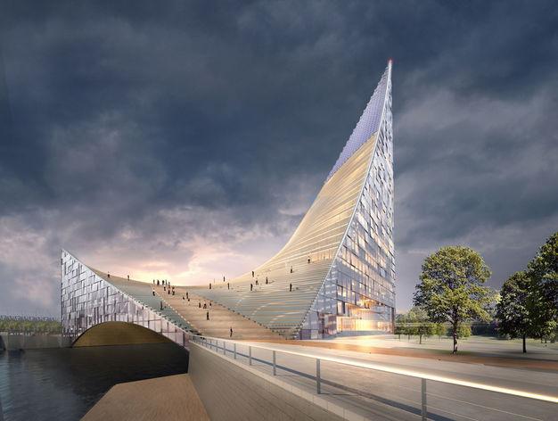 Проект конгресс-холла получил одобрение госэкспертизы. Остаётся один строительный сезон