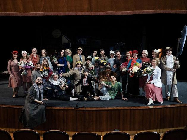 Челябинские предприниматели на сцене «Зеленого театра»
