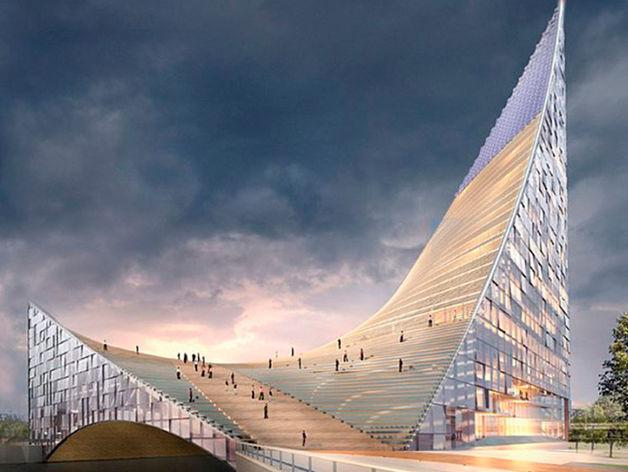 В Челябинске на территории конгресс-холла «Крылья» построят коллектор