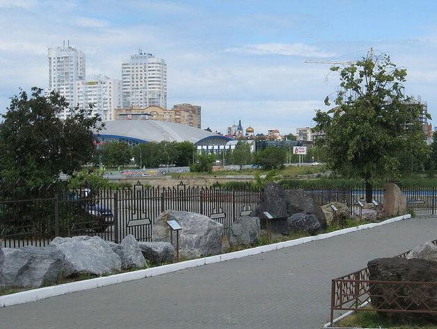 В центре Челябинска открывают сквер с платным входом