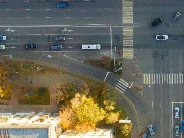 На проспекте Ленина в центре Челябинска планируют убрать правый поворот и построить сквер