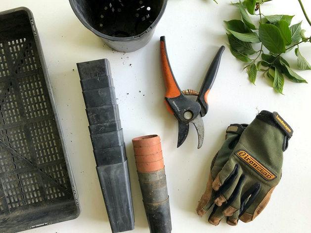Россияне на карантине скупают вилы, грабли и лопаты