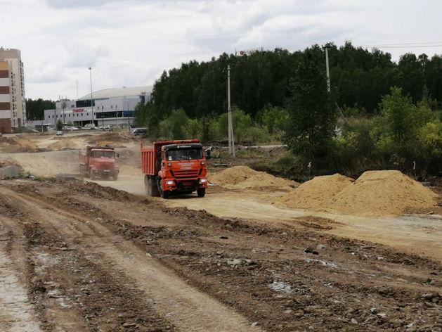 Новая дорога в Челябинске соединит два микрорайона: Тополиную аллею и «Ньютон»