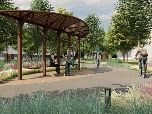 Скверы, парки, прогулочные зоны: у Челябинска появились новые проекты благоустройства