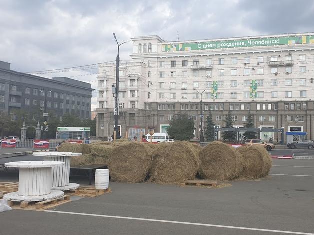 Ожидание и реальность: в Челябинске обнаружили проект ярмарки на площади Революции
