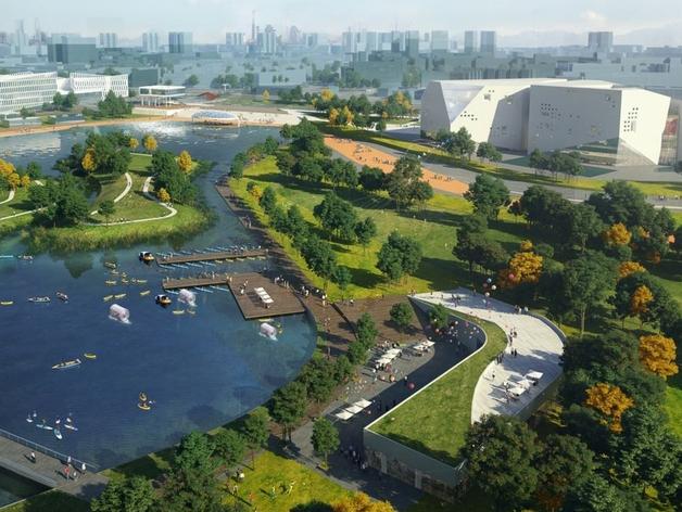 К работе над парком «Притяжение» вновь привлечены компании из Германии
