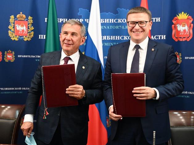 Губернатор Текслер и президент Татарстана Минниханов договорились о сотрудничестве