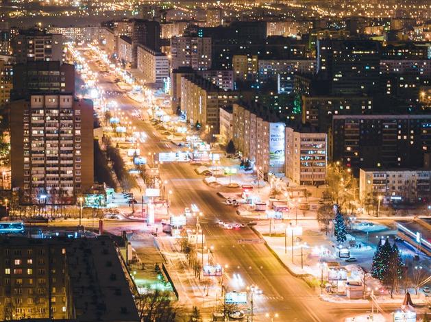 В мэрии представили план новогодней иллюминации Челябинска