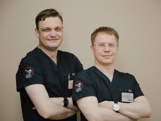 Сергей Шихотаров и Алексей Патрикеев