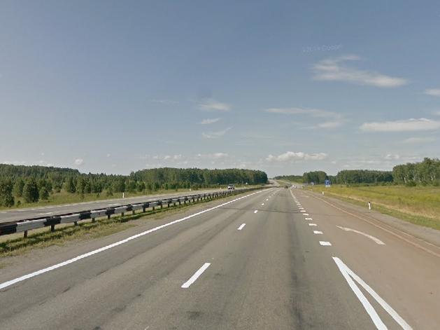 Автомагистраль на челябинском отрезке трассы М5 стала обычной дорогой