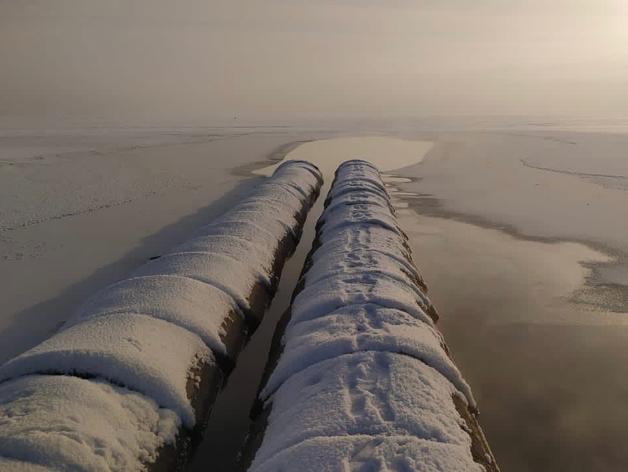 Минэкологии проверит канализационные стоки в Смолино, из-за которых озеро не замерзло