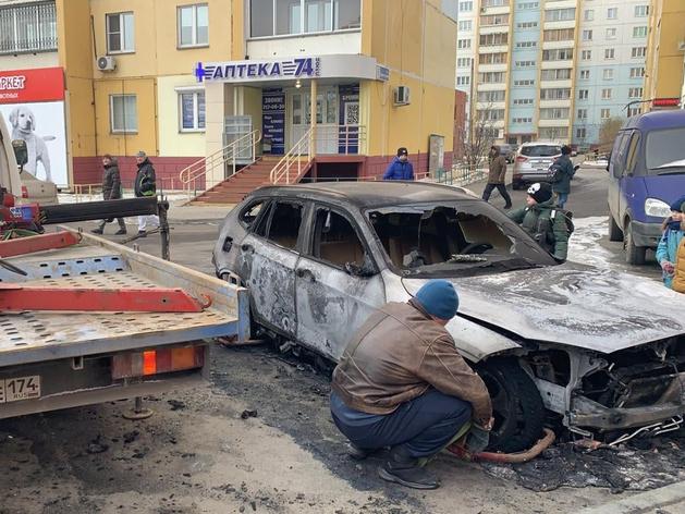 В Коркино задержаны подозреваемые в поджоге авто челябинского журналиста