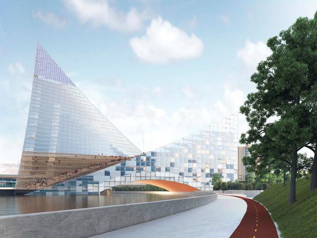 ЗАГС-дворец вместо конгресс-холла: Алексей Текслер — о возрождении недостроя на реке Миасс