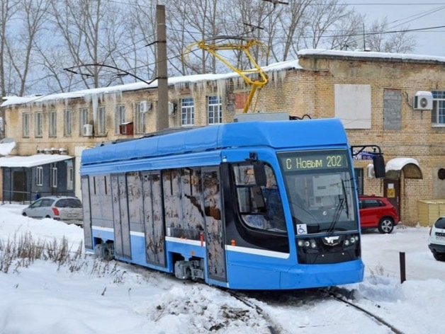 В Челябинске испытают новый трамвай Усть-Катавского завода. Но закупать его не будут