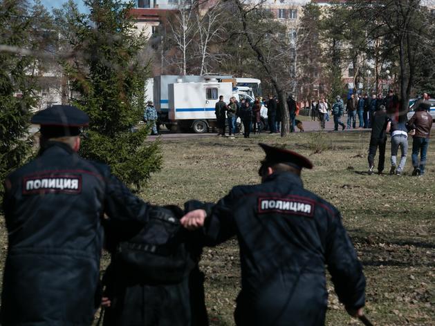 Власти Челябинска грозят уголовным преследованием участникам акции в поддержку Навального