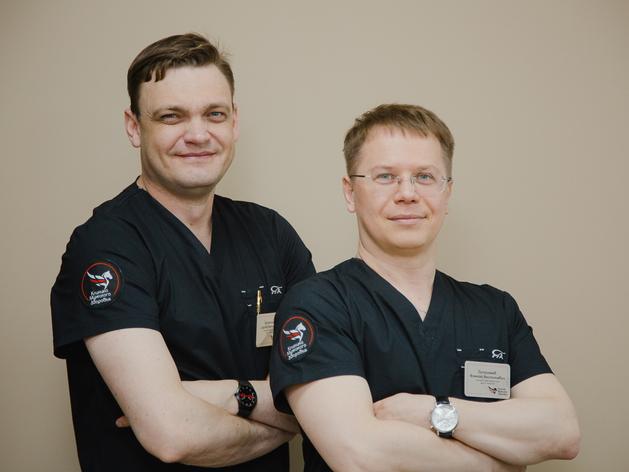 Основатели «Клиники Мужского Здоровья» Алексей Патрикеев и Сергей Шихотаров