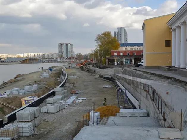 Подрядчик, проваливший стройку набережной в Челябинске, сможет участвовать в новом тендере