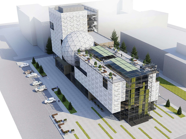 Проект «Курчатов-Центра» (Инициатор: Челябинский завод стройиндустрии «КЕММА»)