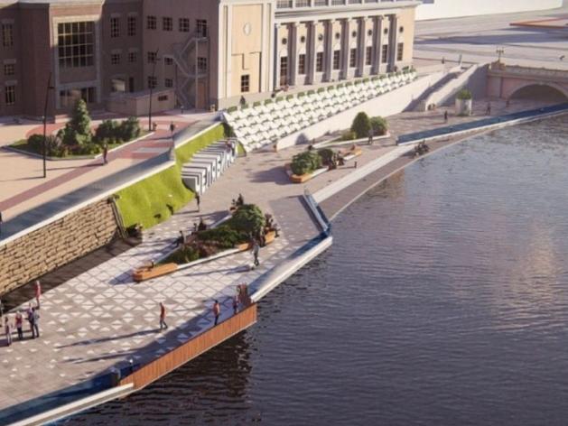 Нового подрядчика на строительство набережной реки Миасс в Челябинске определят в марте
